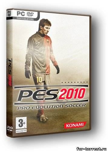 Pro Evolution Soccer (2010) RePack PC скачать торрент
